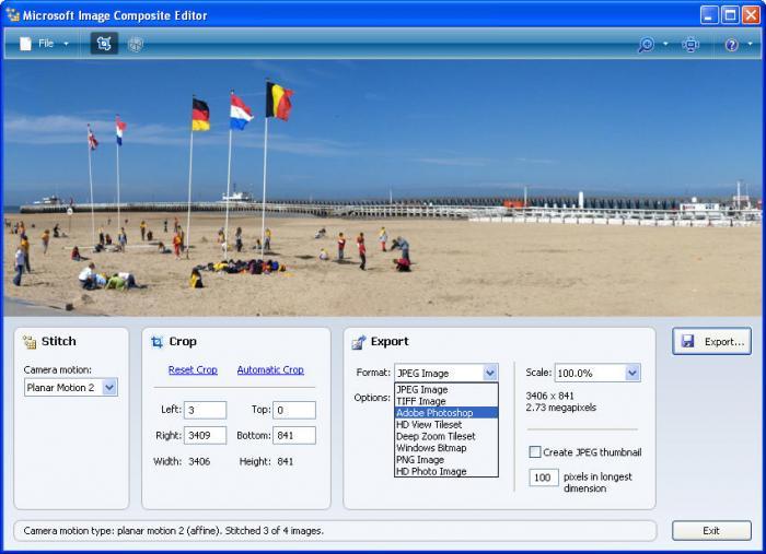 Microsoft Image Composite Editor vs Hugin vs PTGui - Slant