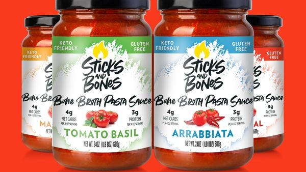 Sticks & Bones Bone Broth Pasta Sauce