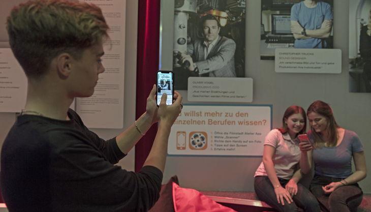 filmstadt atelier app filmberufe