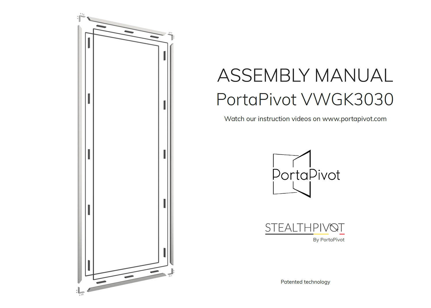 Portapivot 3030 assembly manual