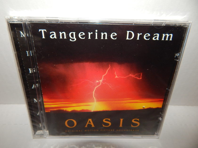 TANGERINE DREAM  -  Oasis Soundtrack 1997 Miramar Electronic Ambient NEW SEALED CD