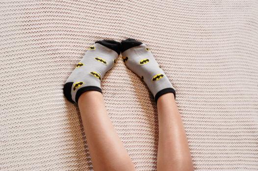 Подарочный набор носков Бэтмен 2 + открытка