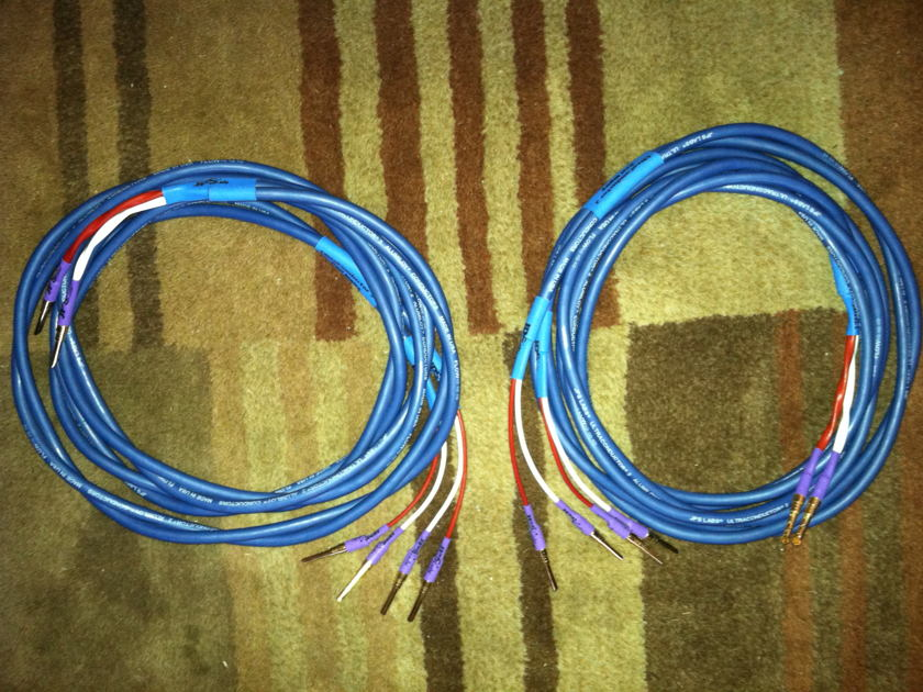 JPS Labs 8 foot Ultra Conductor 2 Double Bi-Wire Over 30% off of Amazing Speaker Wire