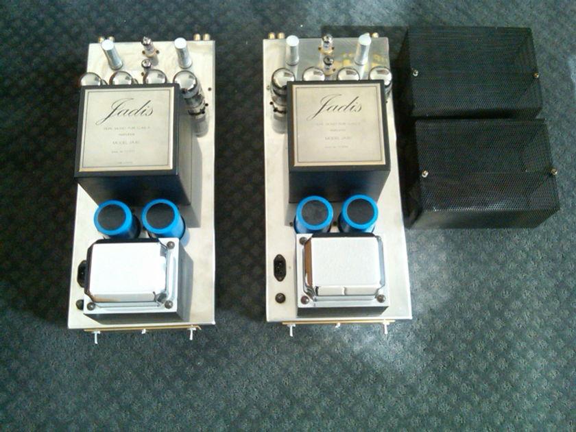 """Jadis JA-80 Monoblock Amplifiers """"Used"""" With Original Boxes"""