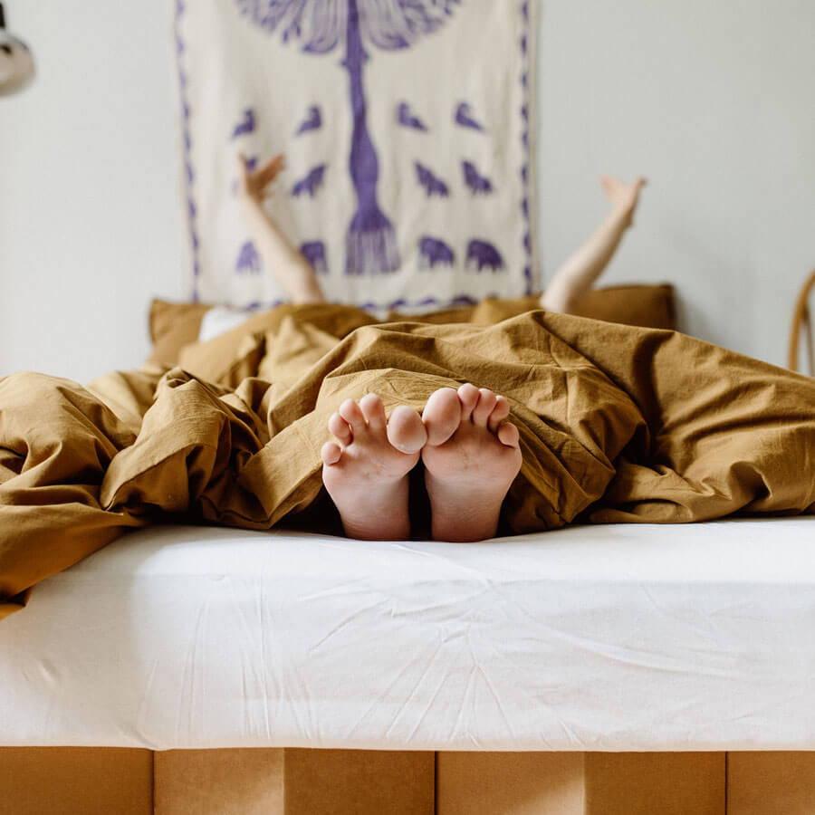 ROOM IN A BOX ein Bett in Überlänge (bis 220 cm)