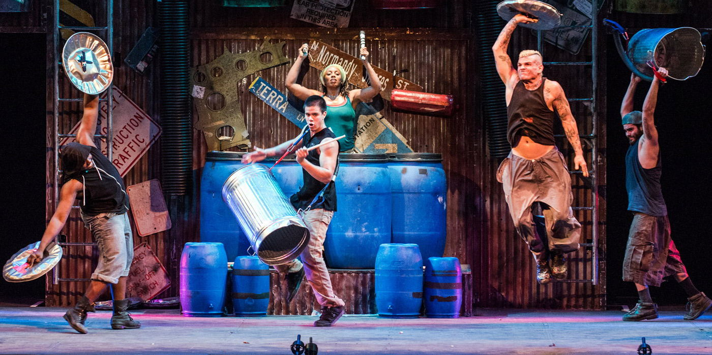 STOMP at the Shubert Theatre