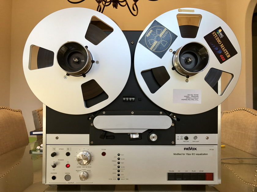 Studer Revox PR-99 reel to reel, Tape Project Machine. Must See!!!