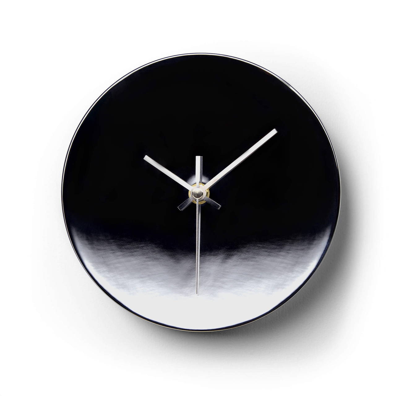 Clock in Chrome finish