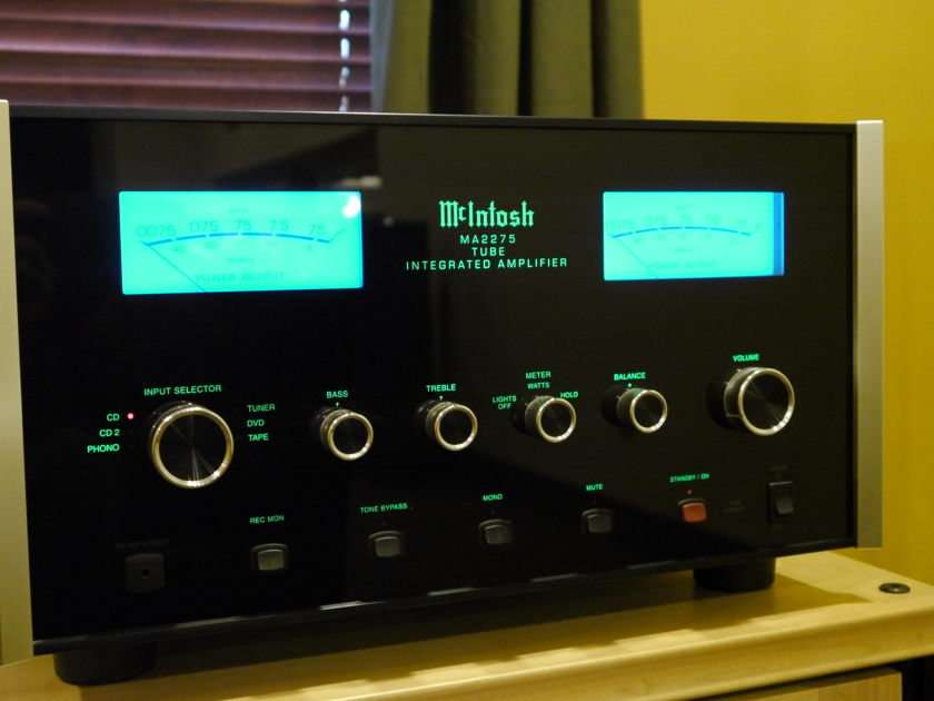 McIntosh MA-2275 Integrated Tube Amp