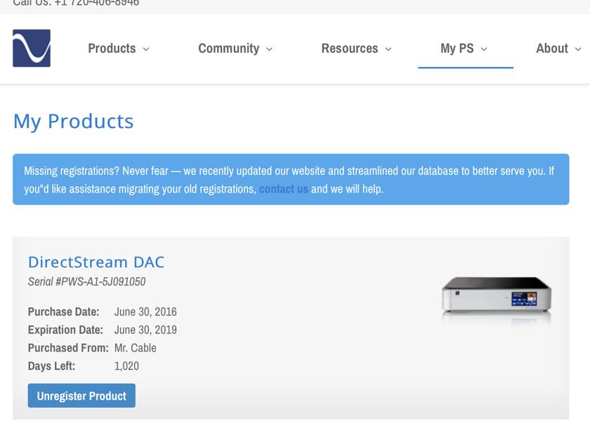 PS Audio Directstream DAC w Network Bridge II Card  NEW Condition with 3 Year Warranty!!