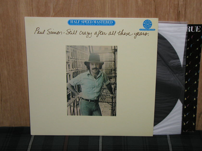 Paul Simon - Still Crazy After All These Years Columbia  Half Speed Mastered HC-43540 NM+