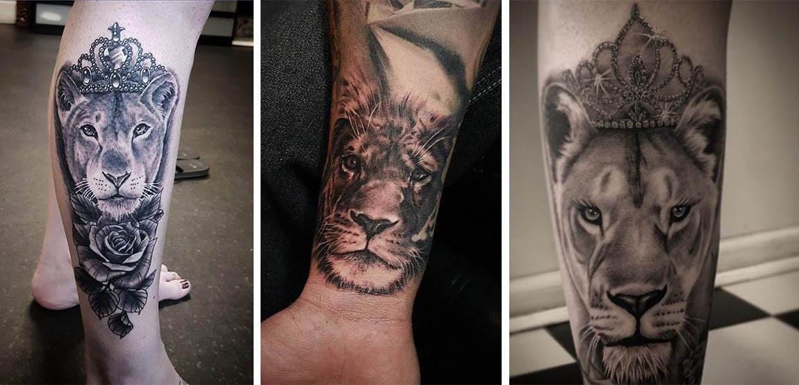Tatouages De Lionnes