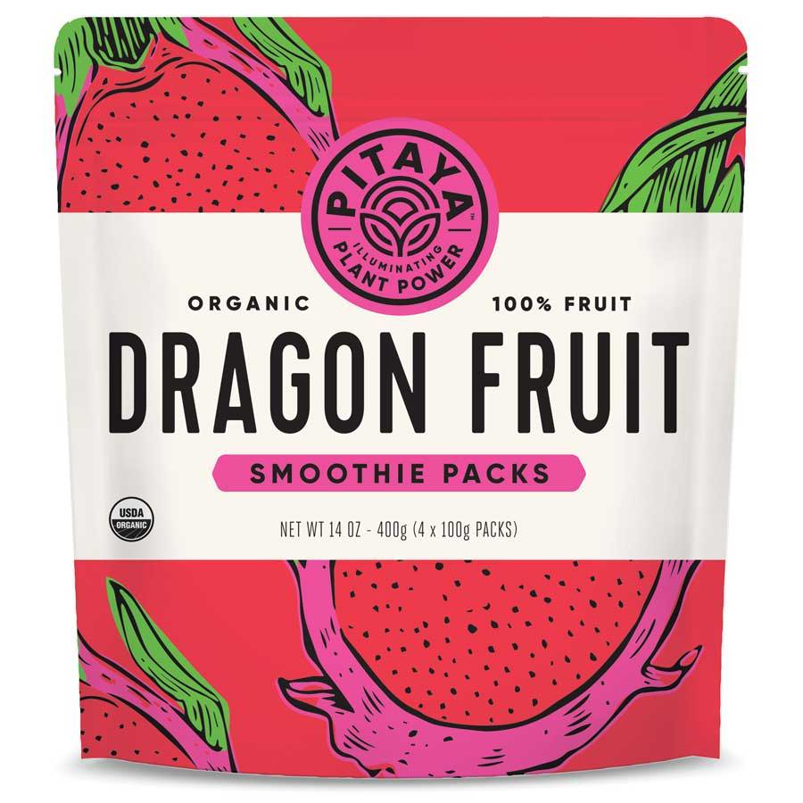 Pitaya Organic Dragon Fruit Smoothie Packs