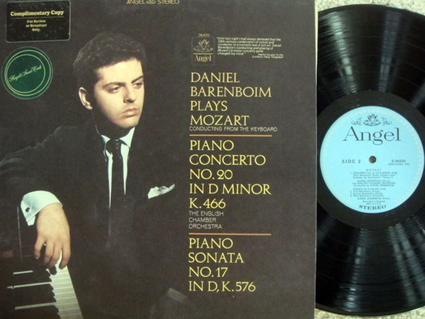 EMI Angel Blue / BARENBOIM, - Mozart Piano Concerto No.2, NM, Promo Copy!