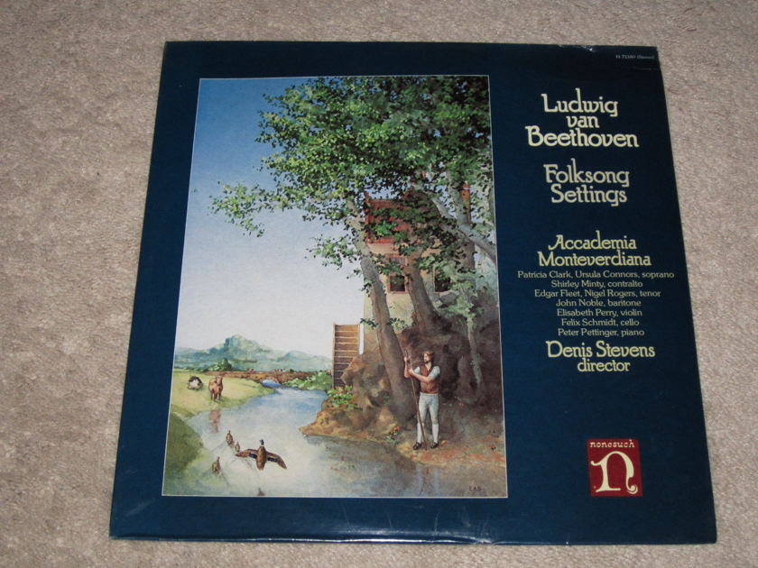 Nonesuch (Sealed) - H-71340 Beethoven Folksong Settings