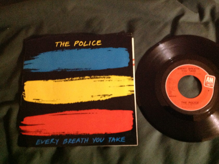 The Police - Every Breath You Take/ Murder By Numbers 45 With Sleeve