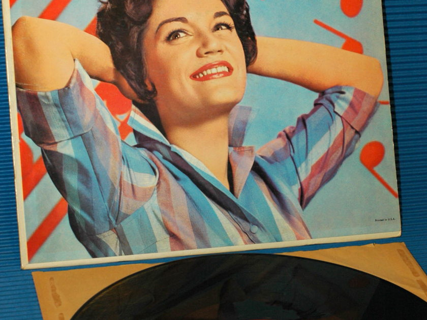 """CONNIE FRANCIS -  - """"Sing Along With Connie Francis"""" -  Mati-Mor 1961 very rare!"""