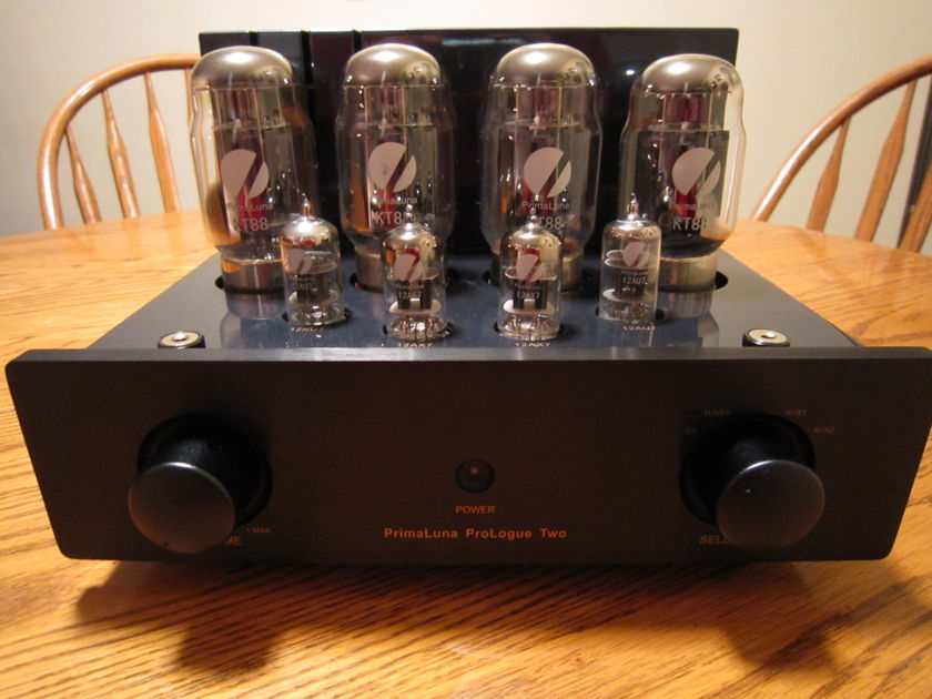 PrimaLuna Proglue 2 with MM phono stage - You can use virtually any output tube