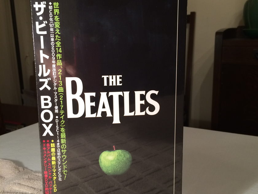 Beatles - The Beatles 2009 Remasters Japan Box Set TOCP-71021 16 Stereo Digipak CD plus - OOP
