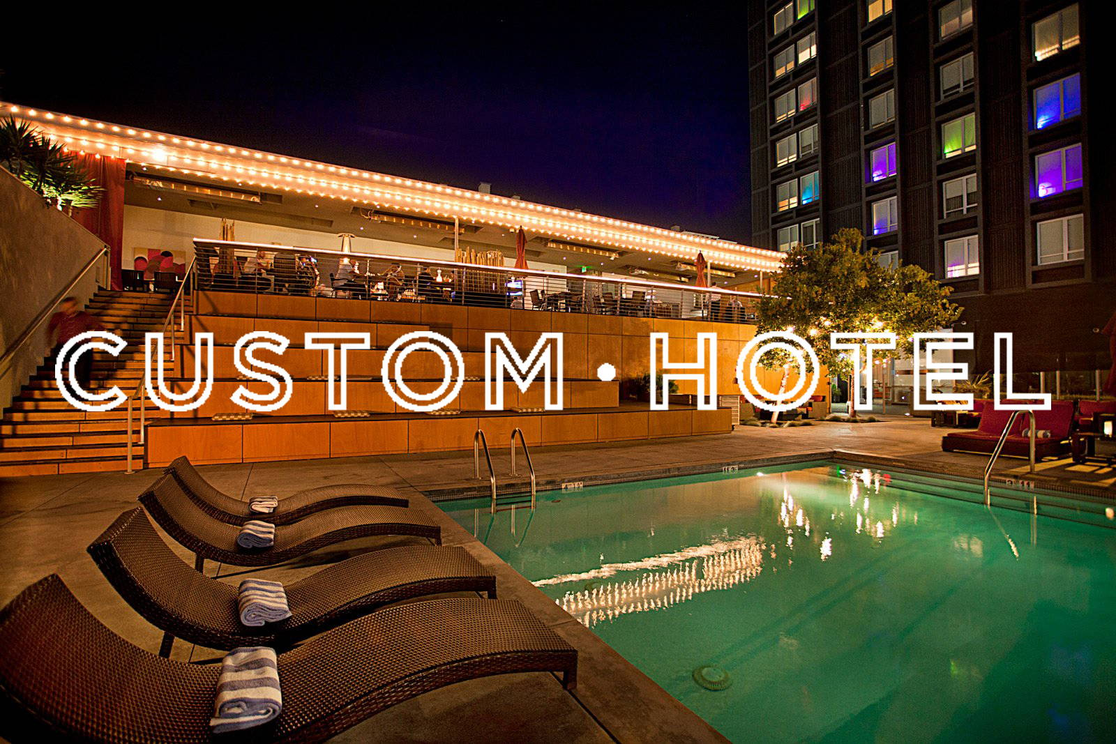 Custom Hotel Los Angeles