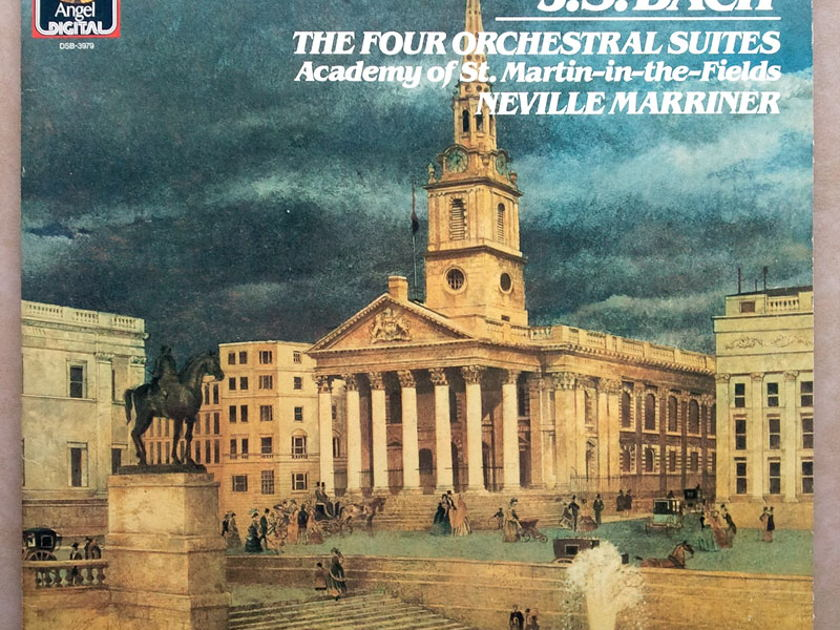 EMI Digital | MARRINER/BACH - The Four Orchestral Suites / 2-LP / German Pressing / EX