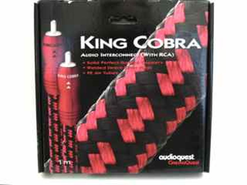 AUDIOQUEST KING COBRA Audio Interconnect