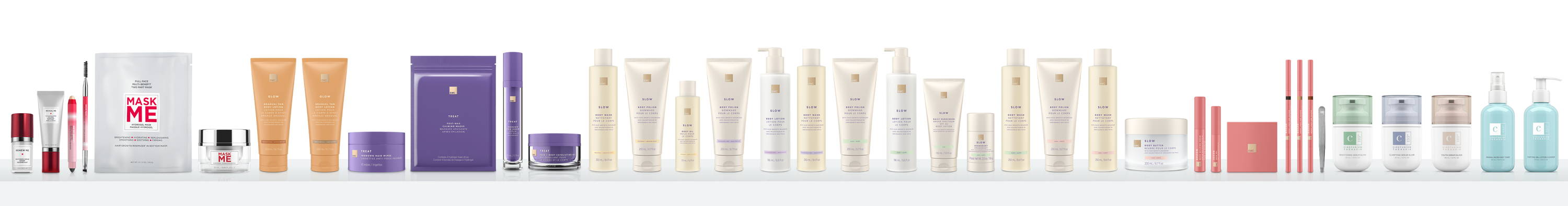 European Wax Center's line of post wax and skin care products