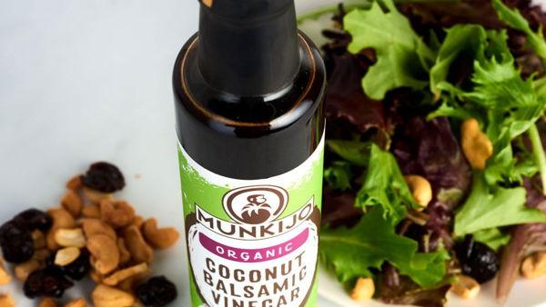 Munkijo Coconut Balsamic Vinegar Packaging Design