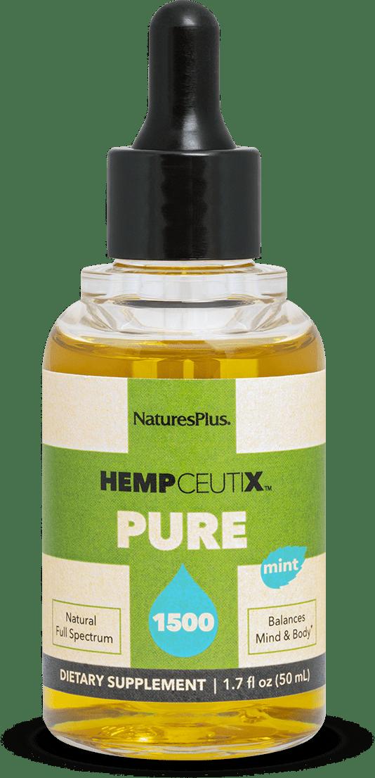 product image of hempceutix pure mint flavor