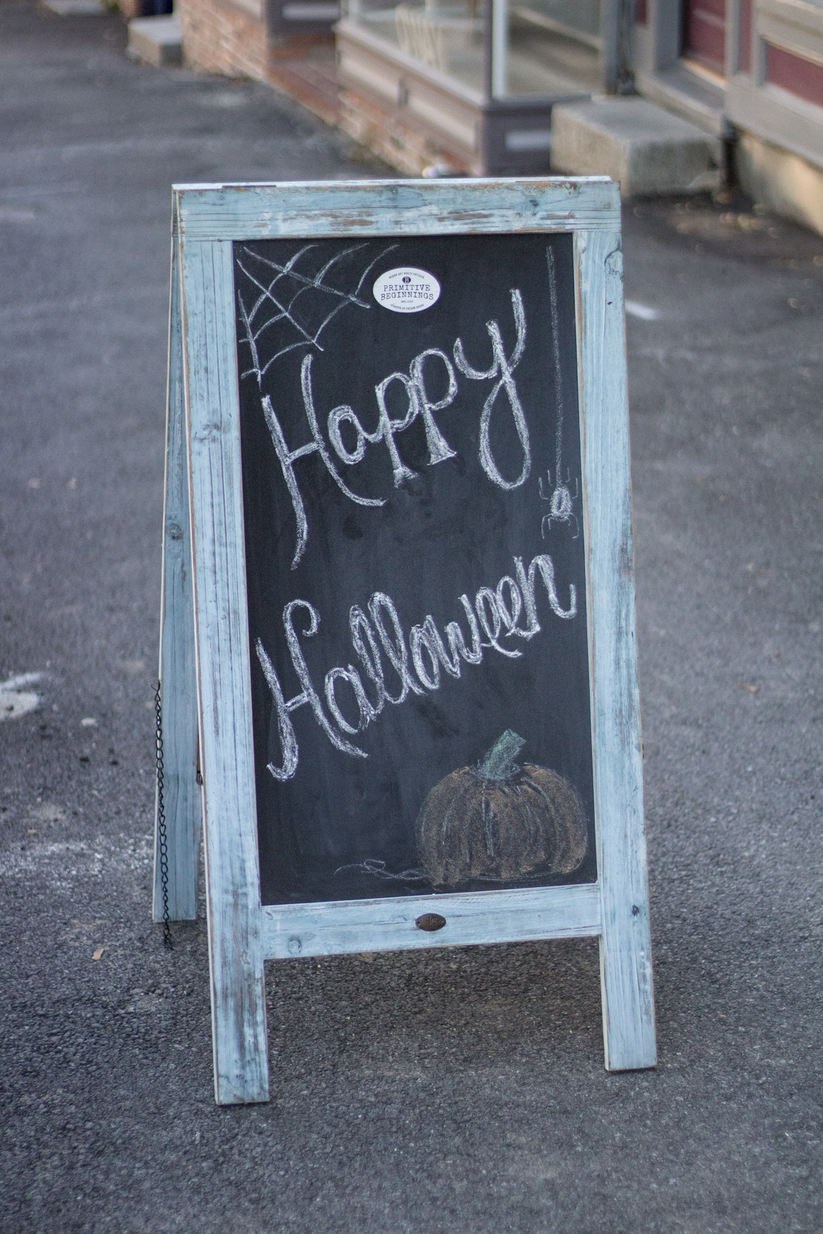 Primitive Beginnings Trick or Treat Halloween Event