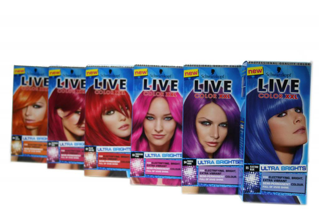 Schwarzkopf Live Colour Ultra Brights What Are The Best Semi