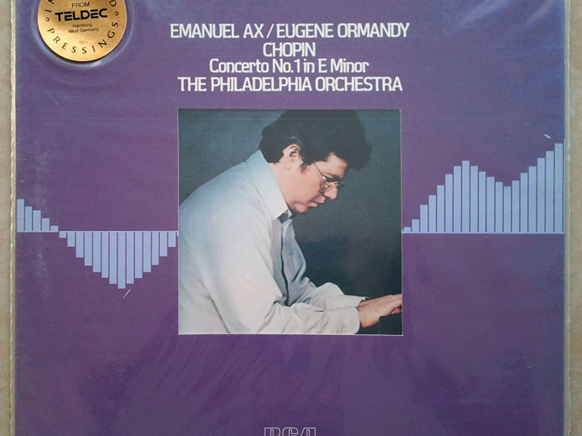 Sealed/RCA Digital/Emanuel Ax/Ormandy/Chopin - Piano Concerto No.1 / Teldec German Pressing