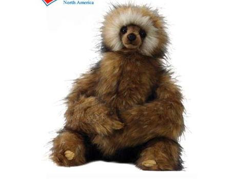 HANSA Life-like Stuffed Animal - Sloth