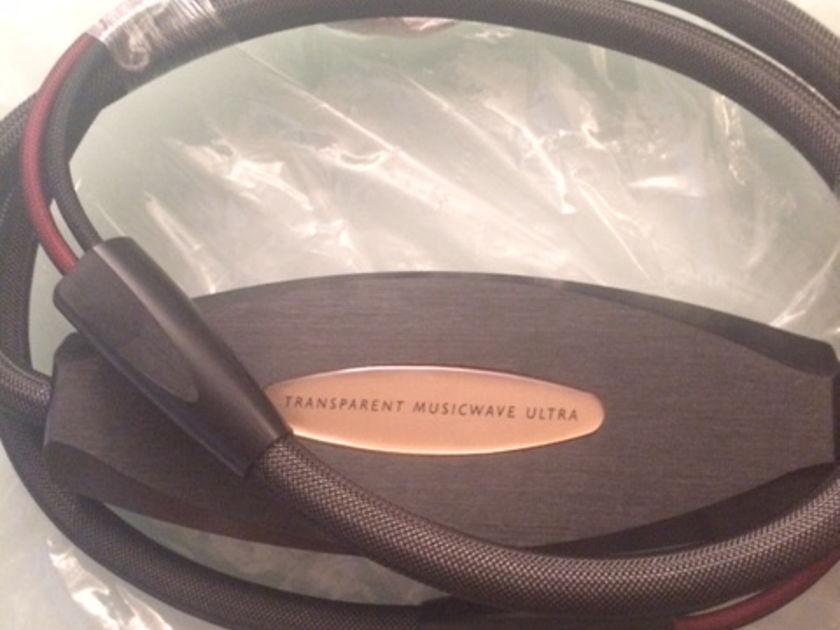 Transparent Audio Musicwave Ultra MM2 8 ft sapdes