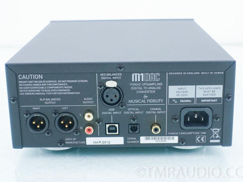 Musical Fidelity  M1DAC;  D/A Converter; DAC(9069)