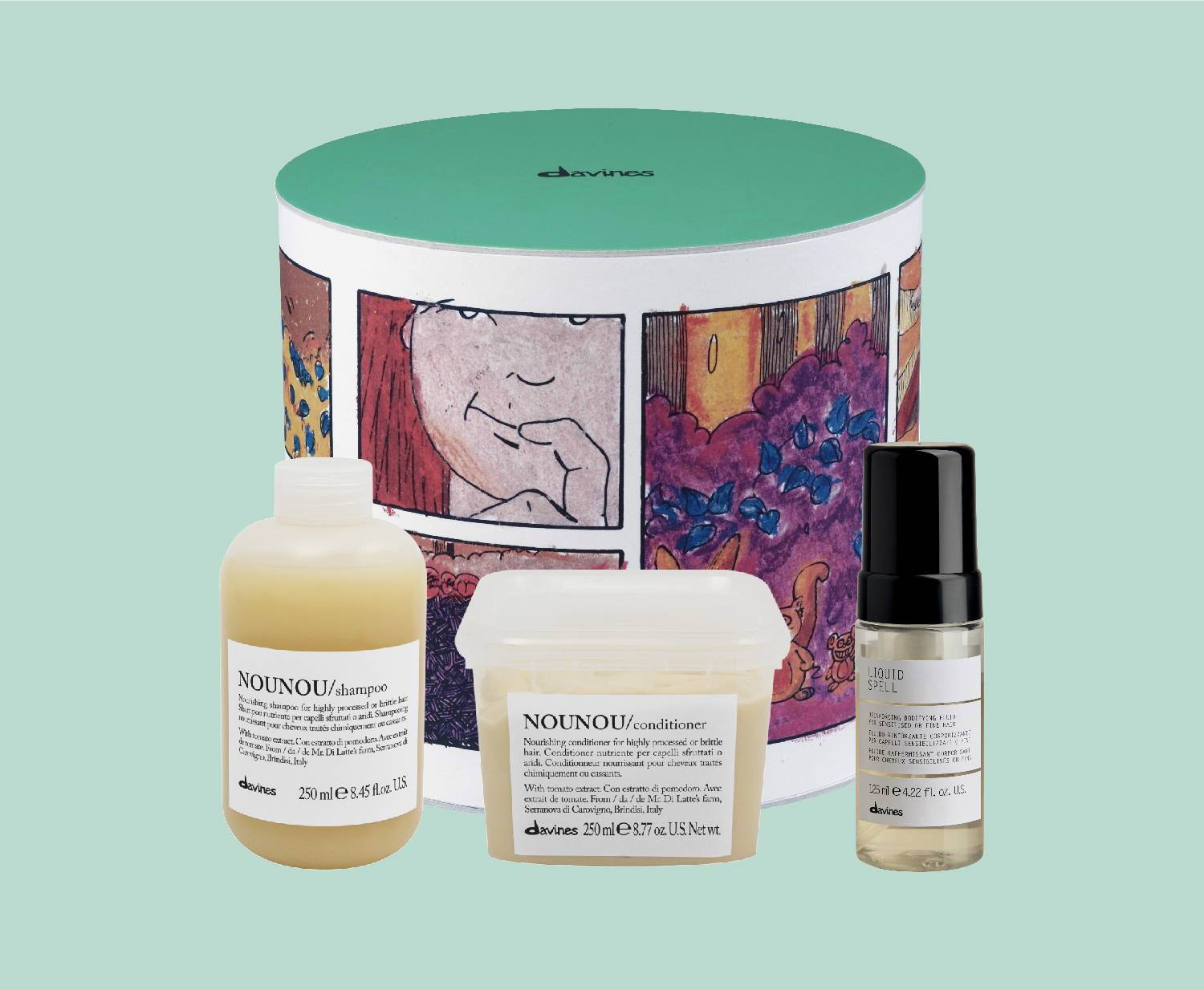 Holiday gift sets at your Davines salon