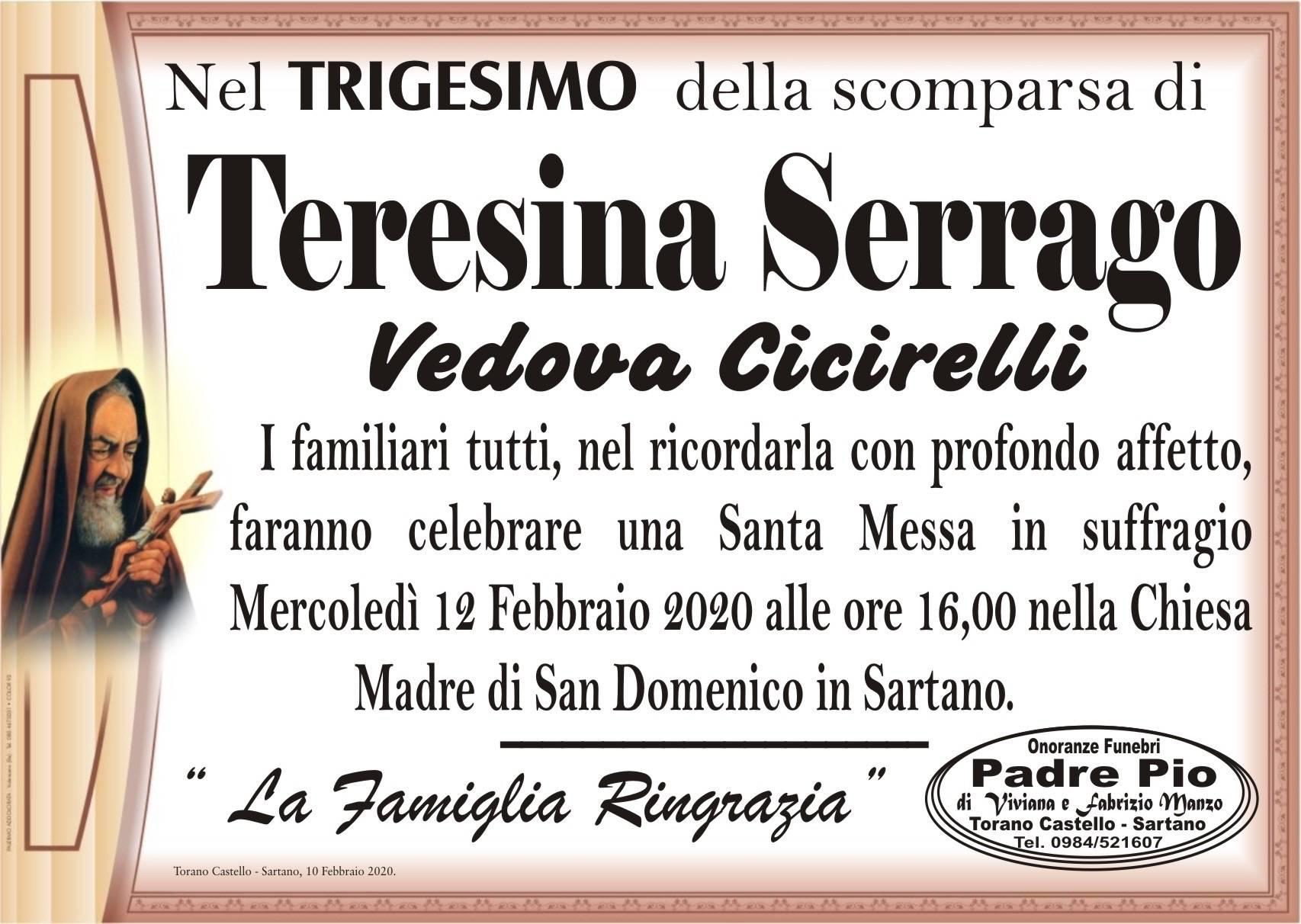 Teresina Serrago
