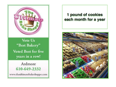 1 Lb of Cookies for a Year