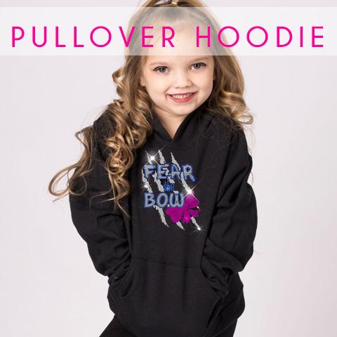 glitterstarz custom rhinestone bling basics pullover hoodie