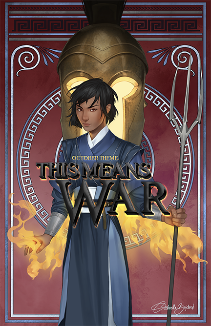 October Theme: This Means War