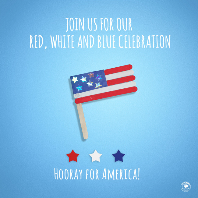 4th of July - independence day - ice cream social