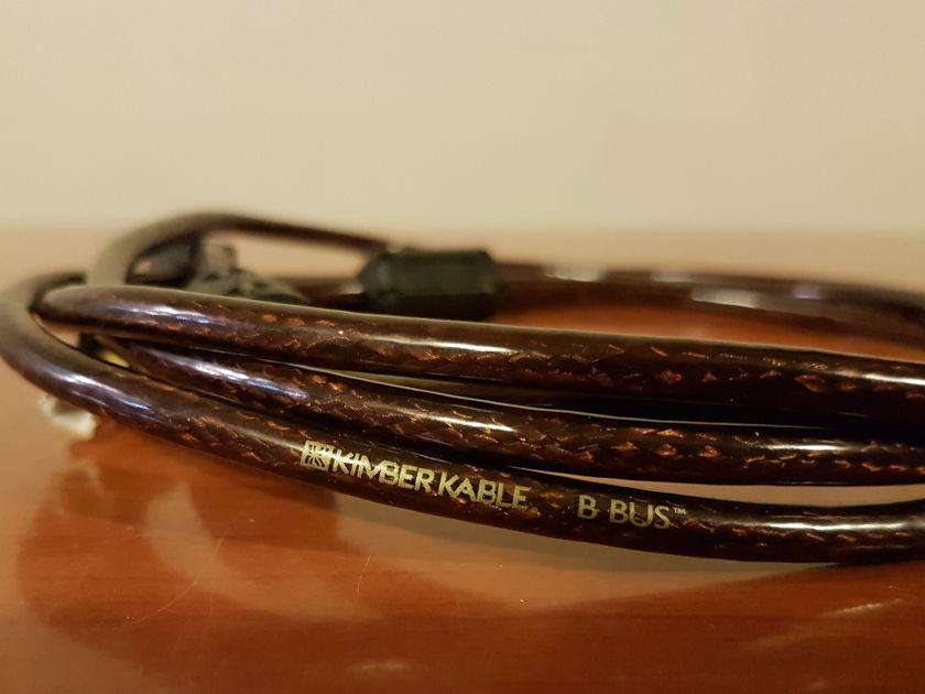 Kimber Kable B-Bus USB cable. 2 meters. USB A to B.