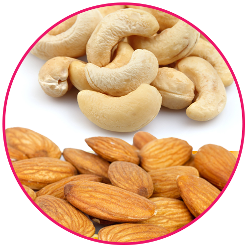 Almonds & Cashews