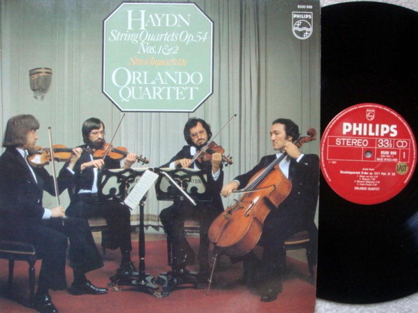 Philips / ORLANDO QT, - Haydn String Quartets No.1 & 2,  MINT!