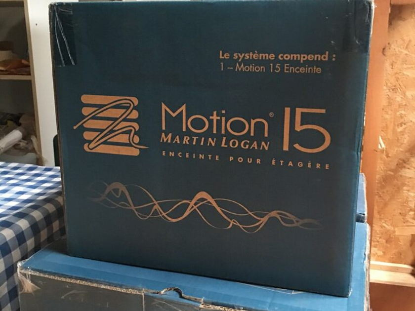 Martin Logan Motion 15/ pair Gloss Black