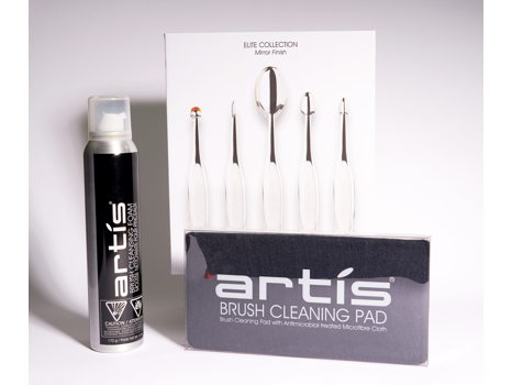 Artis - Elite 5 Makeup Brushes Set & Extras