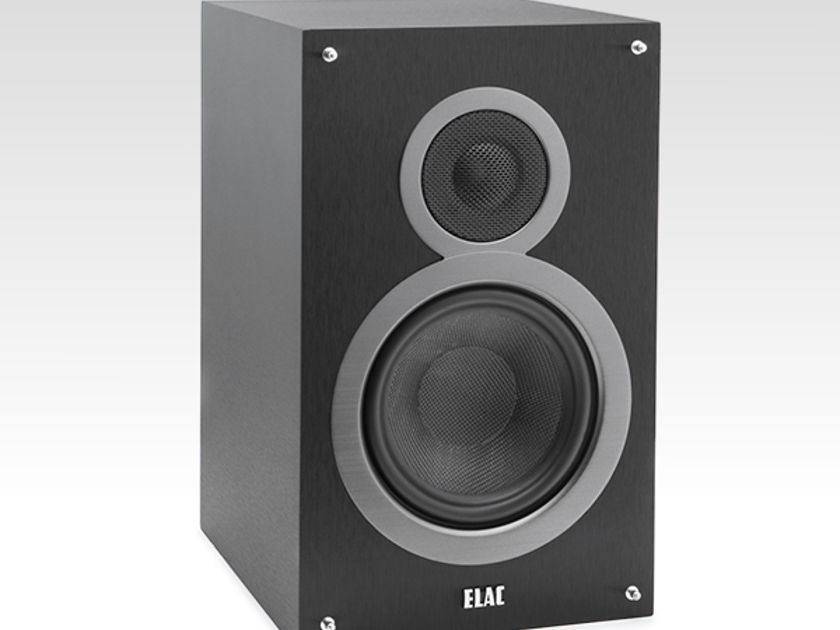 Elac  Debut B6 bookshelf speakers designed by Andrew Jones.