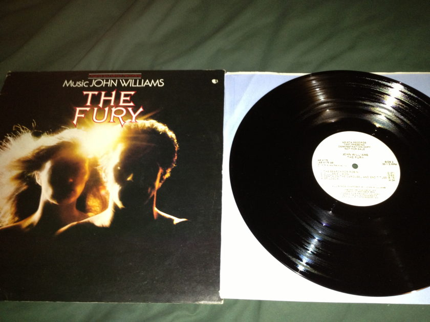 John Williams - The Fury Soundtrack Test Pressing  Arista Label LP NM
