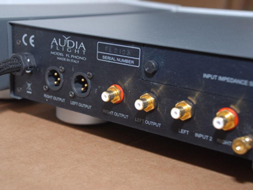 Audia Flight Flight Phono 115v or 230v (stereophile rec)
