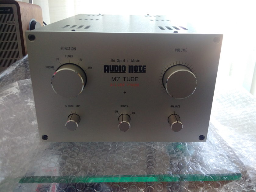 Audio Note Japan M7 TUBE Silver Sound
